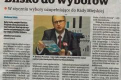 Były radny Stalowej Woli Dariusz Przytuła startuje dowyborów uzupełniających